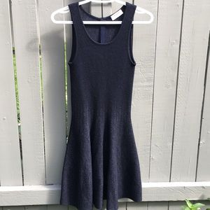 Ports 1961 Navy Wool Dress Size S